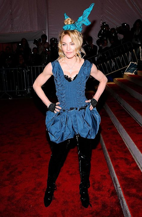 M Adonna The Met Gala
