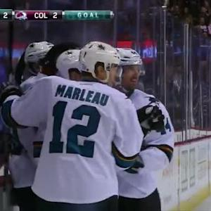 Logan Couture Goal on Semyon Varlamov (05:03/3rd)