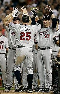 Twins trade Thome to Indians