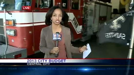 2013 New Orleans budget proposed by mayor