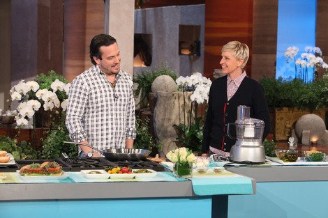 Veggie Burgers with Fabio Viviani!