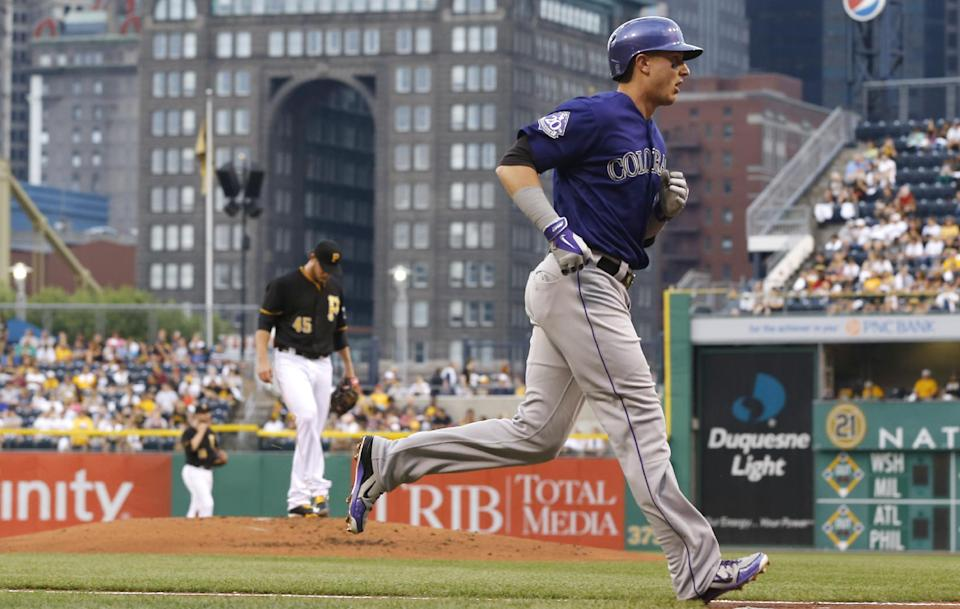 Rockies beat Pirates 4-2 to snap 4-game skid