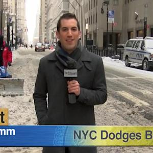 New York City Avoids Major Snowfall, Subway System Reopens