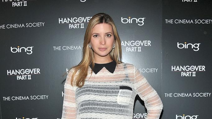 The Hangover Part II 2011 NYC Screening Ivanka Trump