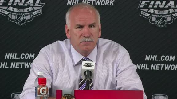 Quenneville on Game 3 loss to Bruins