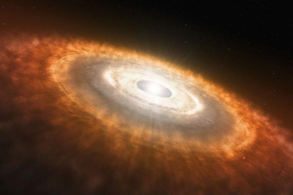 Sun's Shock Waves May Have Staggered Solar System's Planet Formation