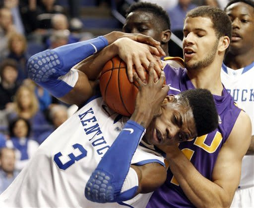 Poythress nets 20, Kentucky survives LSU, 75-70