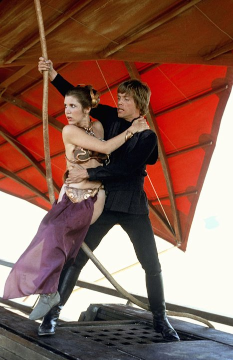 Return of the Jedi 20th Century Fox Production Photos 1983 Carrie Fisher Mark Hamill
