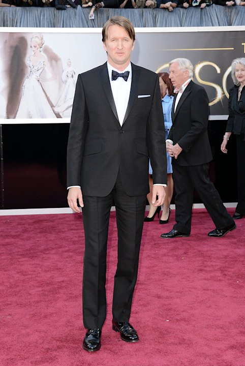 85th Annual Academy Awards - Arrivals: Tom Hooper