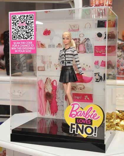 """Barbie Loves FNO"" alice + olivia doll"
