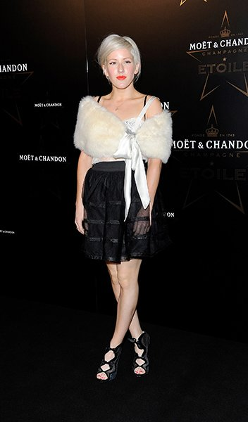 Arriving at the Moet &amp; Chandon Etoile Award Gala honoring Mario Testino in 2011