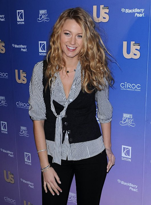 Blake Lively attends US Weekly's 2008 Hot Hollywood Issue Celebration at Skylight on October 21, 2008 in New York City.