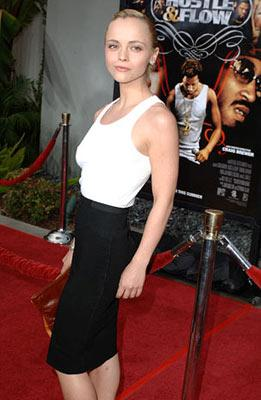 Christina Ricci at the Hollywood premiere of Paramount Classics' Hustle & Flow