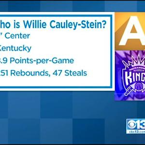 NBA DRAFT: Sacramento Kings Select Willie Cauley-Stein With No. 6 Pick