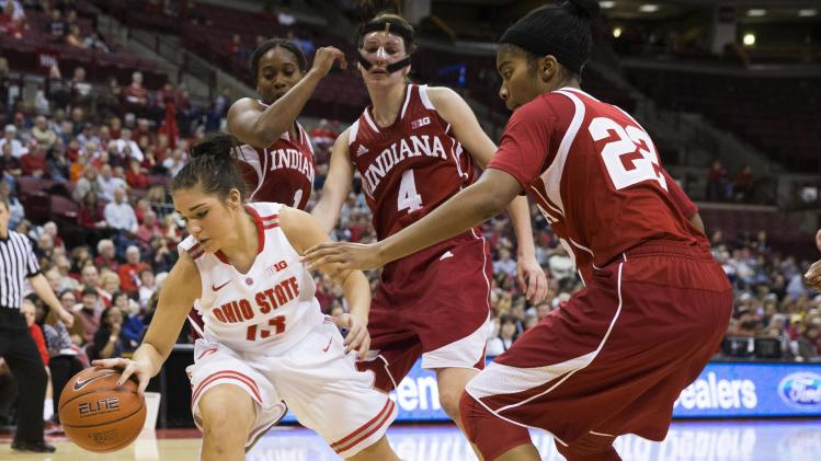 NCAA Womens Basketball: Indiana at Ohio State