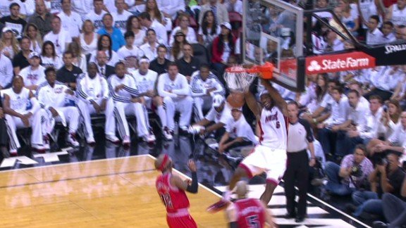 Bosh to Wade