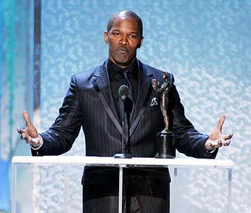 Jamie Foxx of Ray Outstanding Actor in a Motion Picture Screen Actors Guild Awards - 2/5/2005