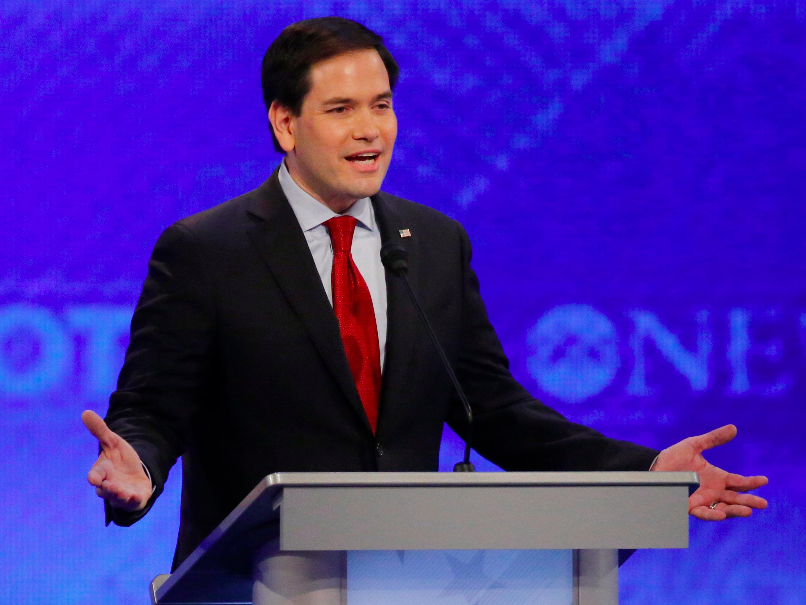'MARCOBOT MALFUNCTIONS': Everyone's saying Rubio had a brutal debate night
