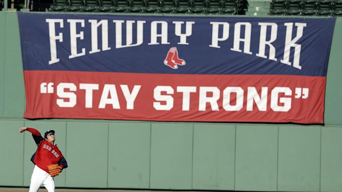 Boston Strong: Red Sox ride wave of good feelings