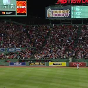 Ortiz's three-run homer