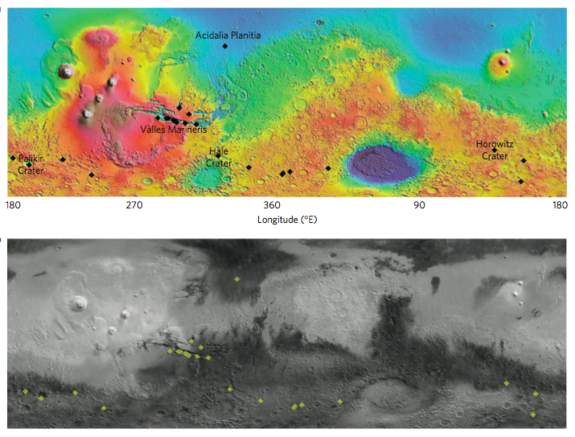Puzzling Streaks On Mars May Be From Flowing Water