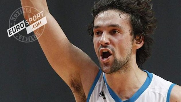 Sergio Llull en en Real Madrid