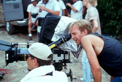 Director Billy Bob Thornton on the set of Miramax's Daddy and Them