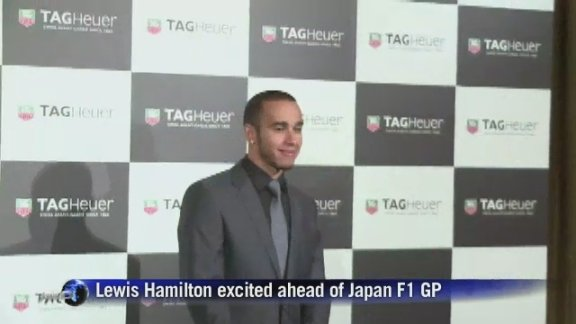 Hamilton excited ahead of Japan F1 GP