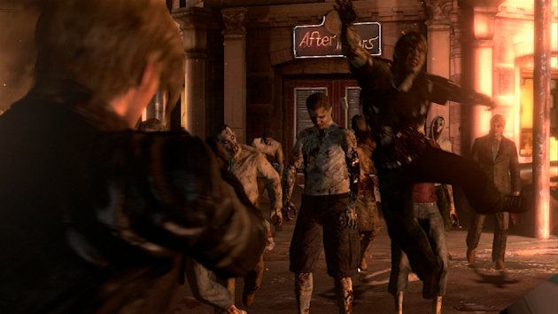 "This video game image released by Capcom shows a scene from ""Resident Evil 6."" (AP Photo/Capcom)"