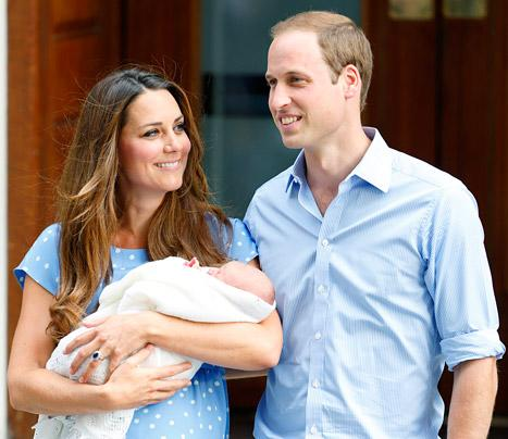 "Kate Middleton, Prince William ""Enjoying Bonding Time"" With Prince George in Bucklebury"