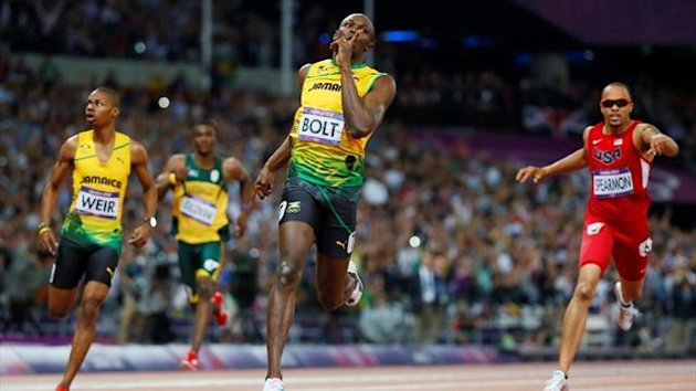 amaica's Usain Bolt wins the men's 200m final during the London 2012 Olympic Games at the Olympic Stadium (Reuters)