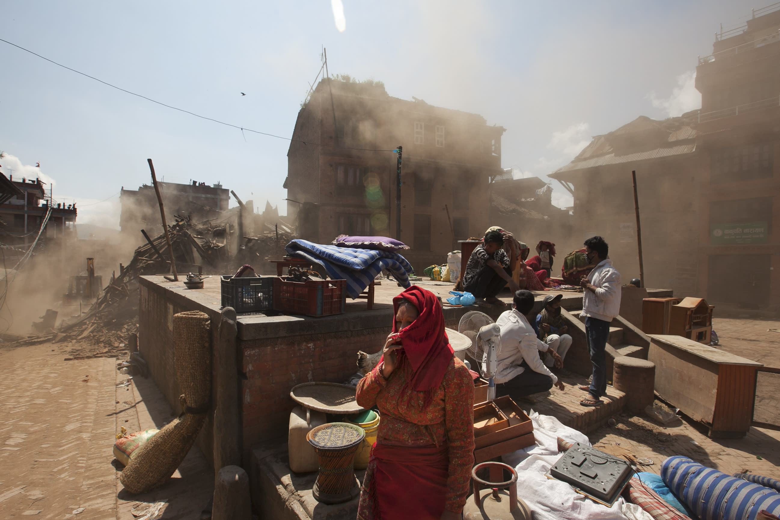 Quake-aid need acute in Nepal capital, more so in villages