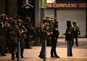 French soldiers and members of police special forces…