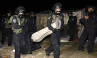 Israel Evicts Palestinians From Protest Camp