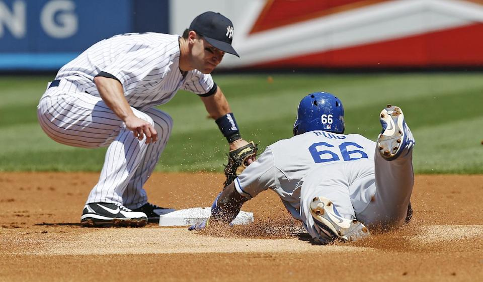 Mattingly, Dodgers salvage split at Yankee Stadium