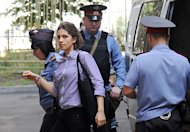 Pussy Riot Trial Nears Verdict in Moscow