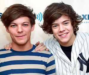 One Direction's Louis Tomlinson and Harry Styles: We're Not Dating!