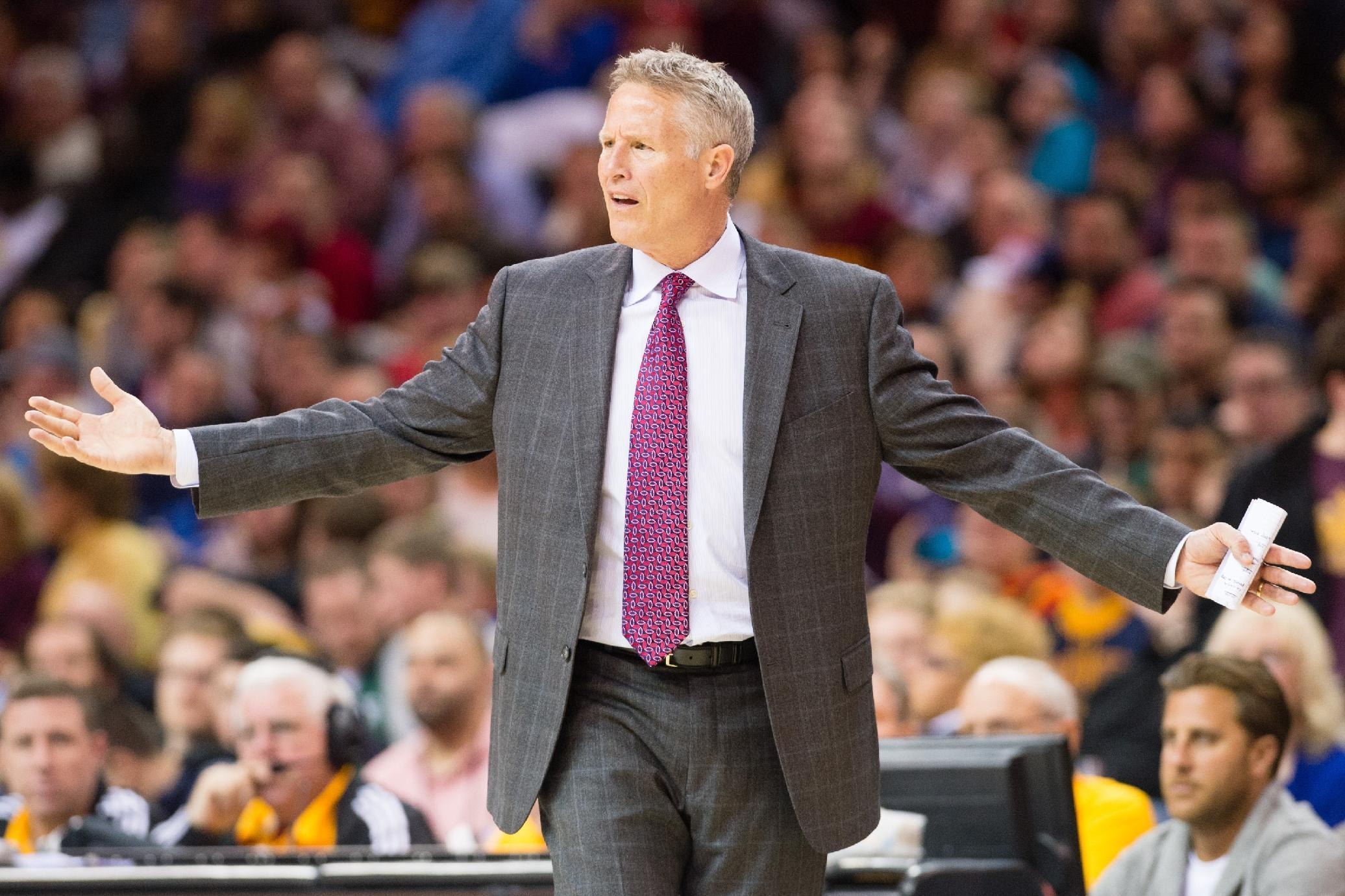 Some kind 76ers fans are crowd-funding gifts for Brett Brown