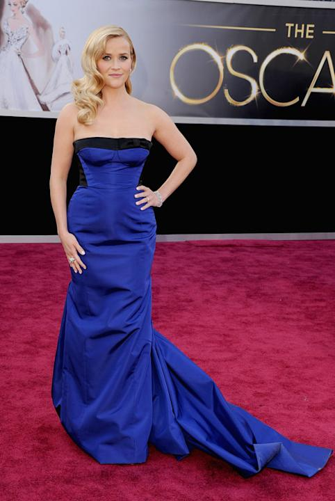 oscars 2013 red carpet arrivals reece witherspoon