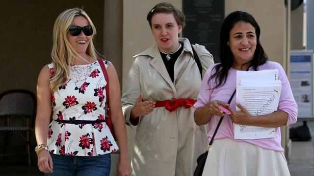 Reese Witherspoon Lunches With Lena Dunham, Sparks Collaboration Rumors