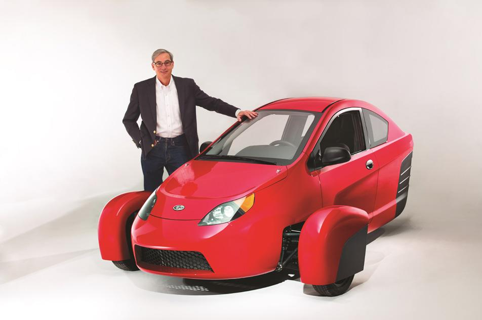 Letting it ride: Entrepreneur bets it all on a $6,800, 84 mpg microcar for the masses