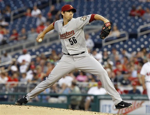 Strasburg throws 6 in Nats' 6-3 win over Astros