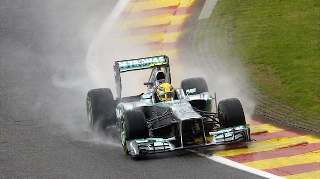 Lewis Hamilton, Spa (Reuters)