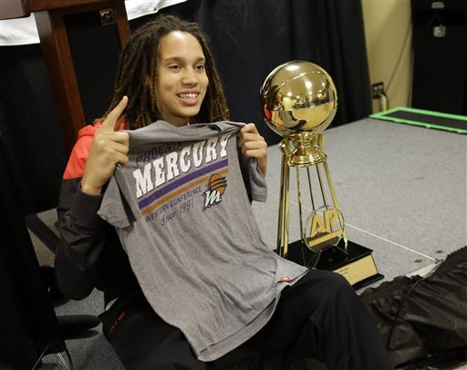 Griner open to NBA tryout after Mavs owner's offer