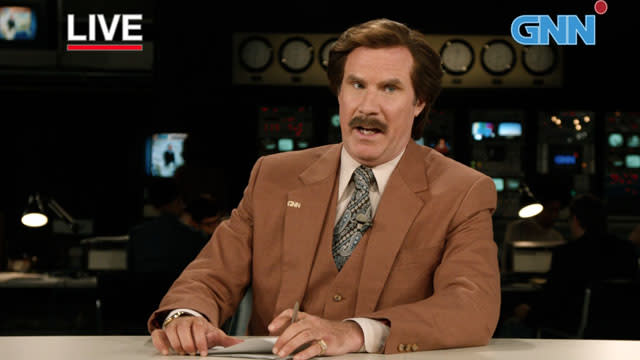 'Anchorman 2: The Legend Continues' Super-Sized Trailer