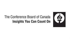 The logo of The Conference Board of Canada is shown. THE CANADIAN PRESS/HO
