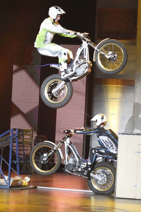 "Smage Bros. Riding Shows (motorcycle stunt show) is one of the Top 48 acts on Season 6 of ""America's Got Talent."""