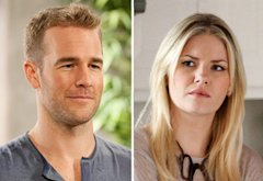 James Van Der Beek, Elisha Cuthbert | Photo Credits: Colleen Hayes/ABC; Michael Ansell/ABC