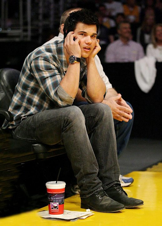Lautner Taylor Lakers