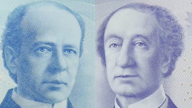Canada's new 5 and 10 dollar bills